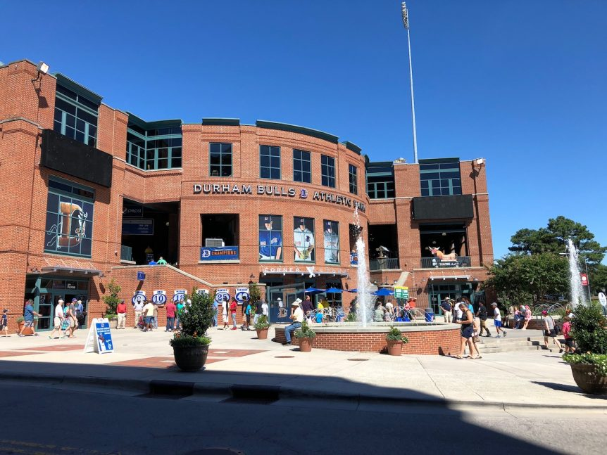 eBike Central at the Durham Bulls baseball game!