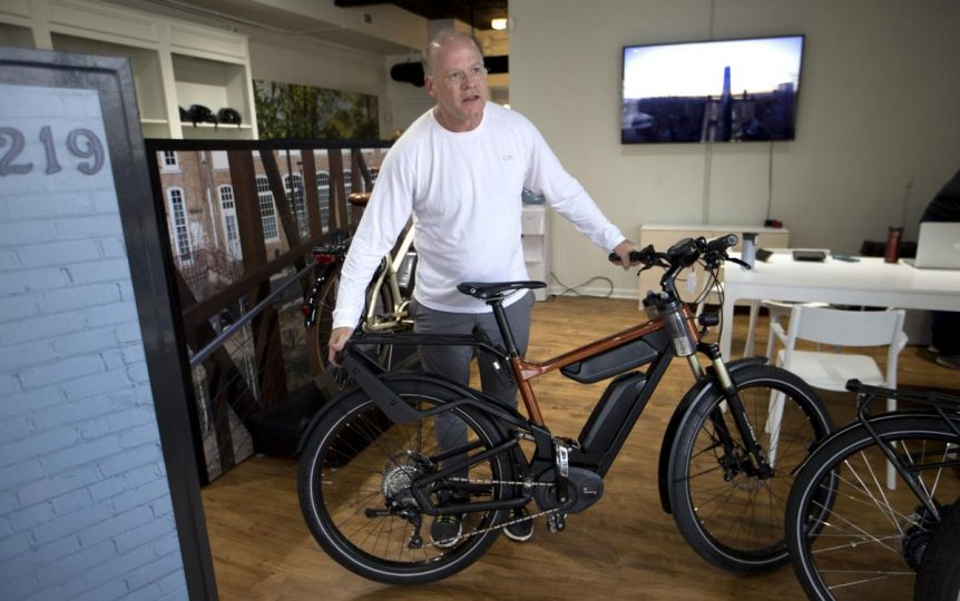 eBike Central, News and Record Article. Greensboro NC