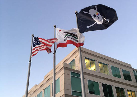 Apple Pirate Flag