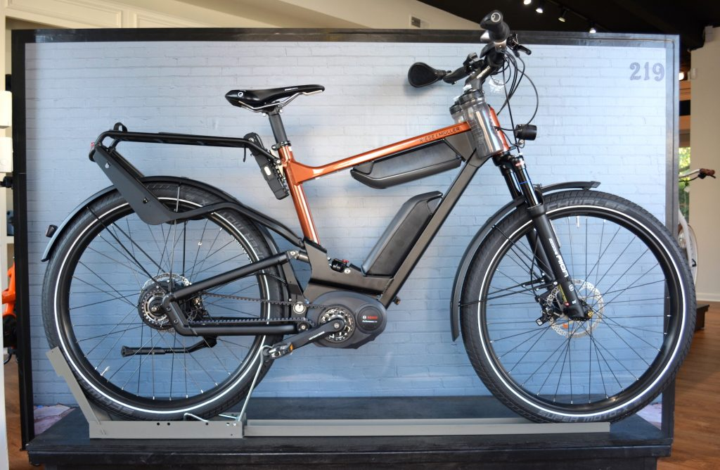 Riese and Muller Delite GT nuvinci HS