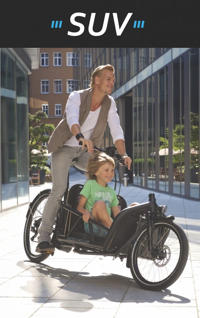 Riese and Muller Packster Cargo eBike