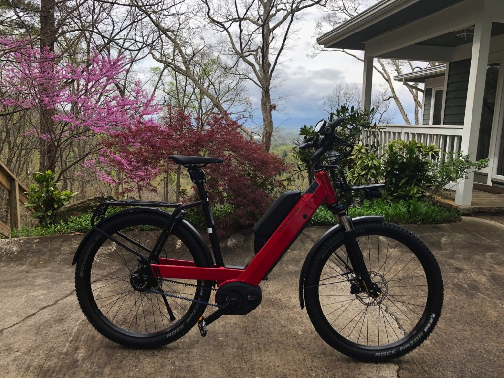 eBIke Central in Asheville NC - Riese & Muller Nevo GX E14 Rohloff Dual Battery HS