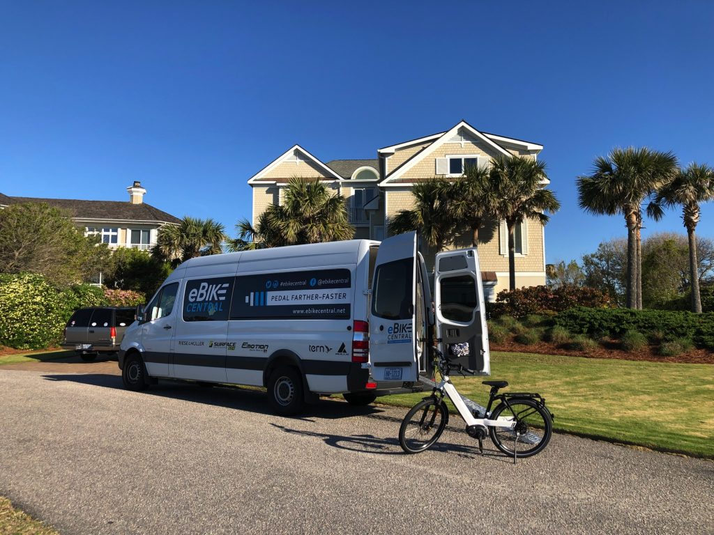 eBike Central delivers to Figure Eight Island NC, near Wilmington NC - Riese & Muller Nevo GT