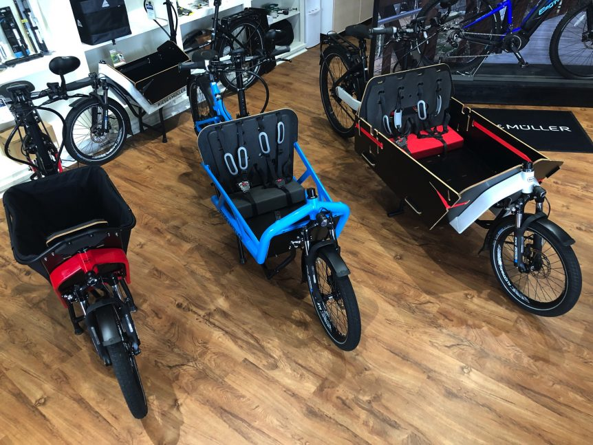 Riese and Muller Cargo eBikes