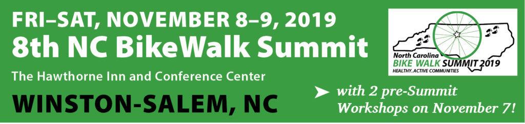 eBike Central and BikeWalk NC Summit 2019