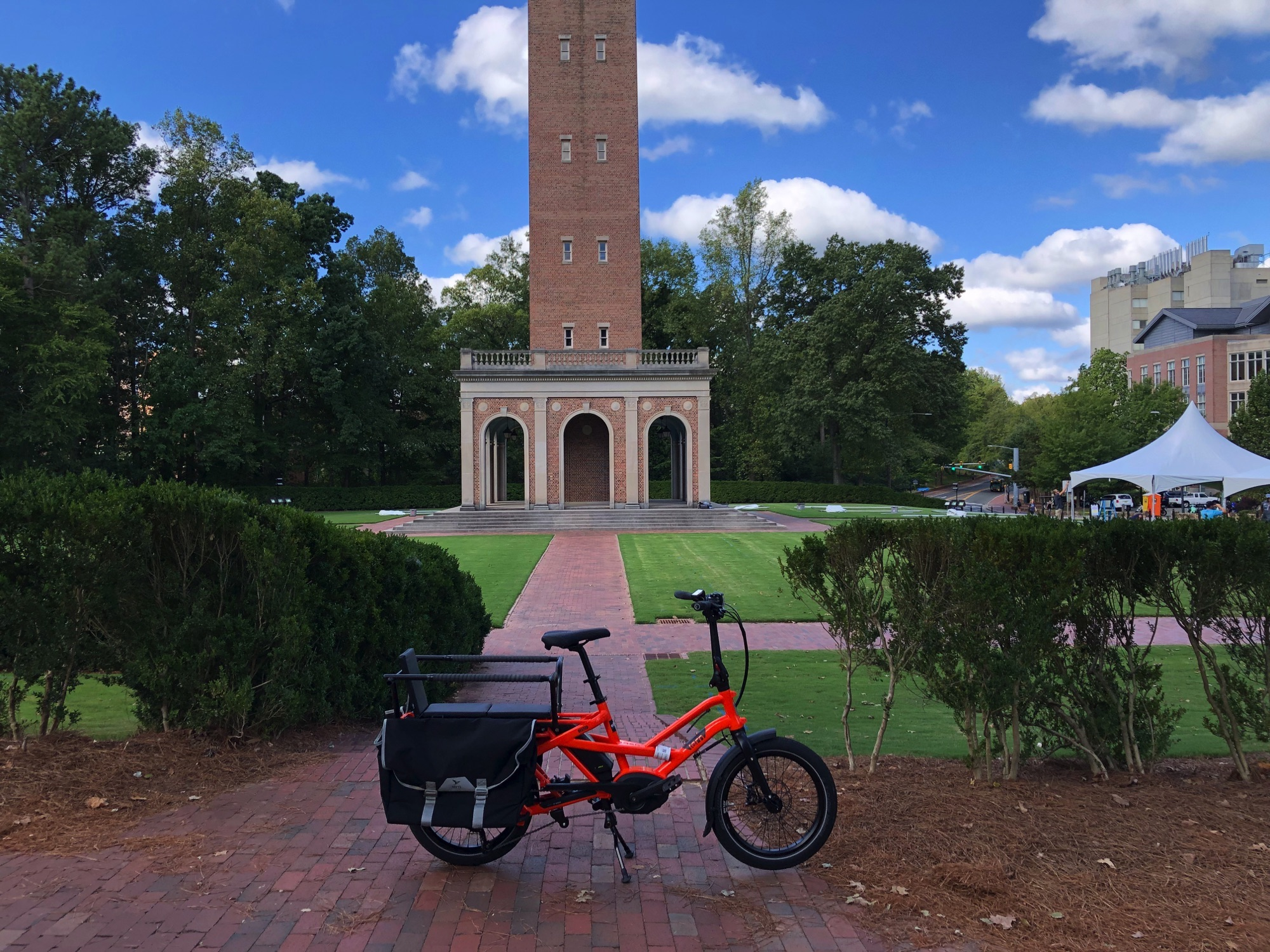 eBike Central at UNC in Chapel Hill NC
