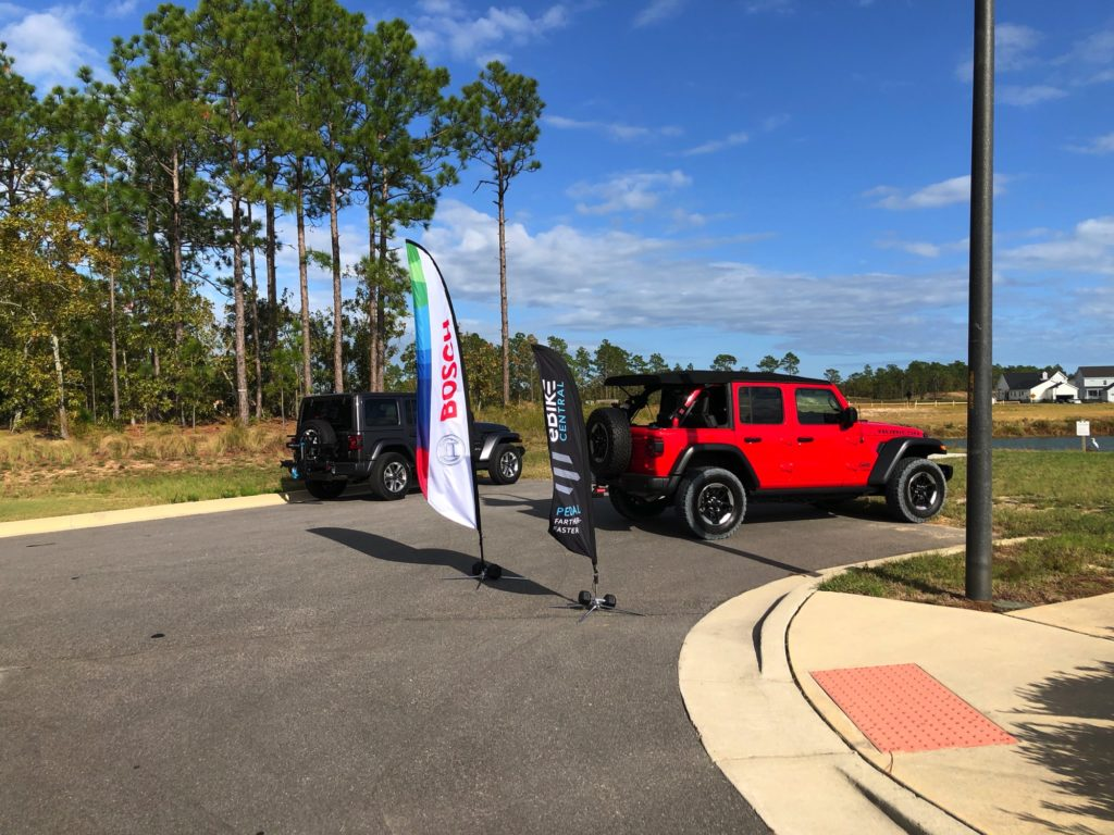 eBike Central Demo Day Event underway at Riverlights Community in Wilmington NC for Electric Bicycle Demo Day Event