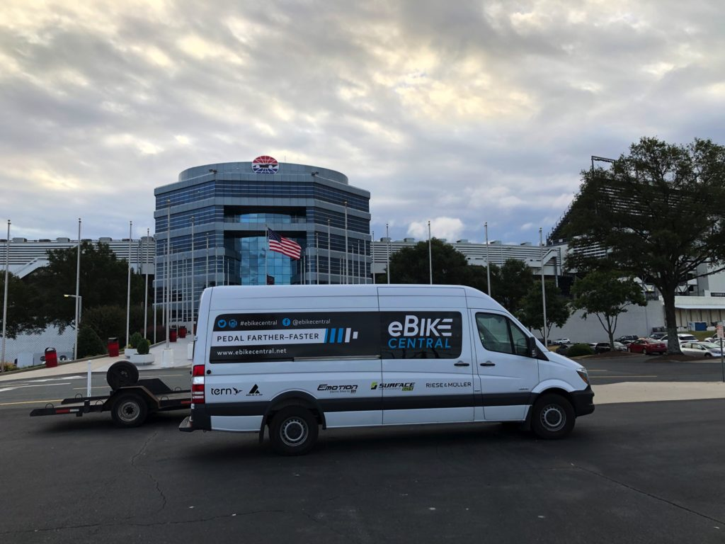 Concord NC - eBikes at the NC Clean Energy Event