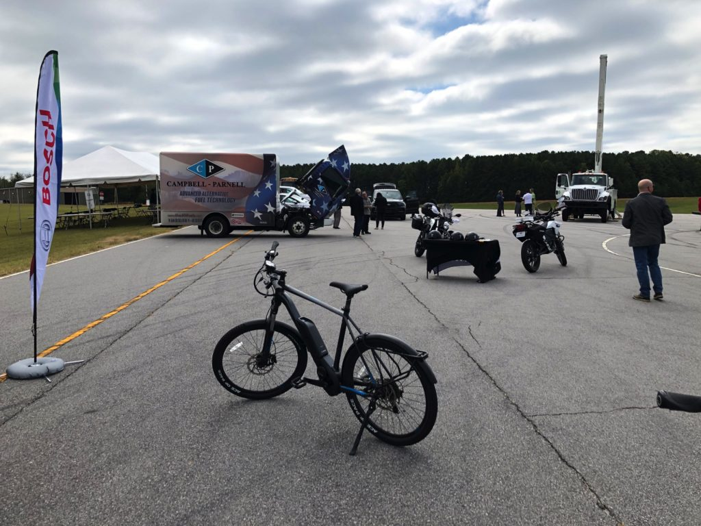 Garner NC - eBikes at the NC Clean Energy Event