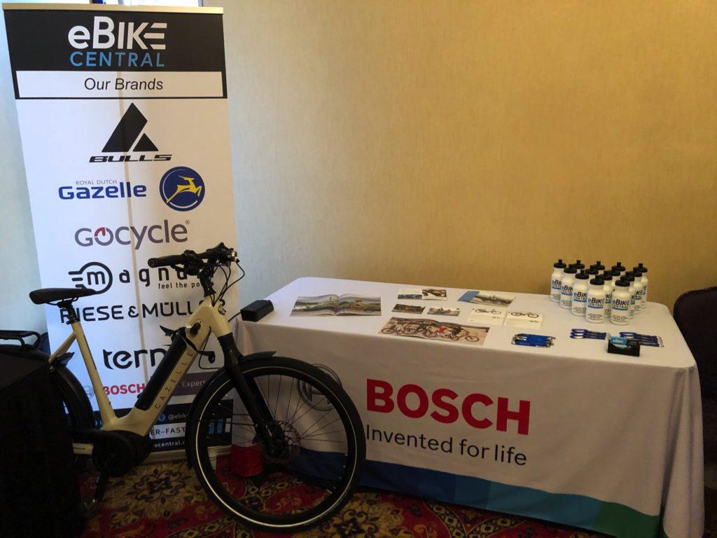 eBike Central at 2019 BikeWalk NC Summit in Winston Salem NC