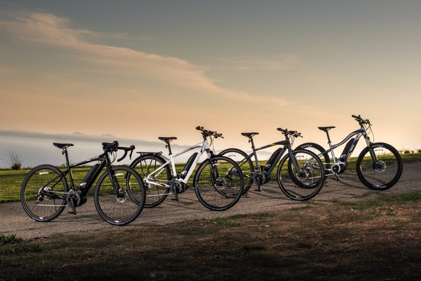 Yamaha Pedal Assist Electric Bicycles