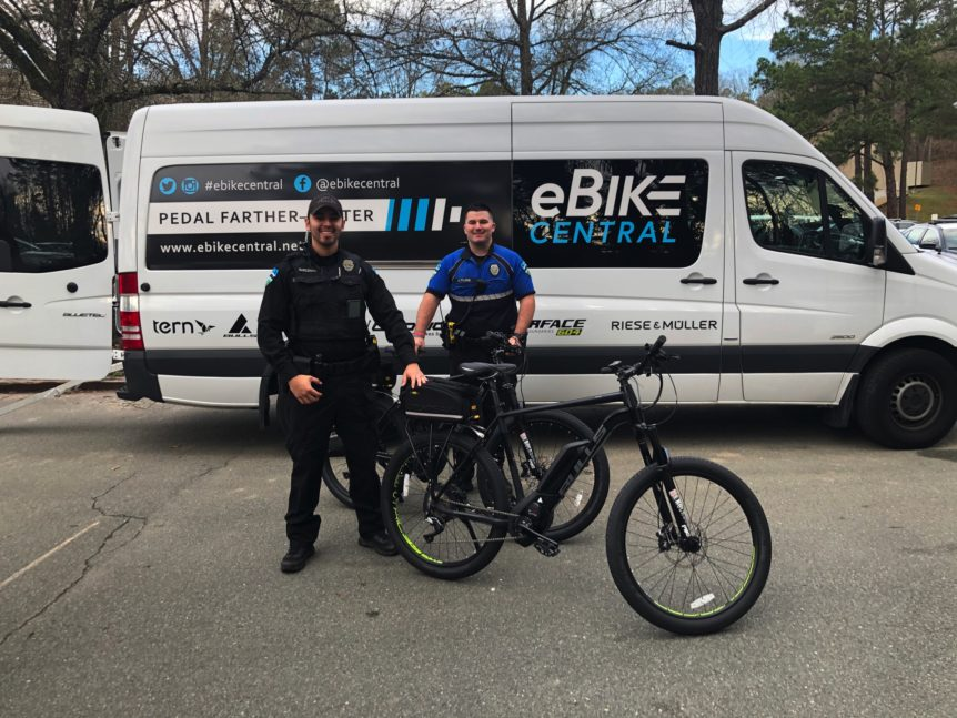 Chapel Hill Police on eBikes - Bulls Sentinel