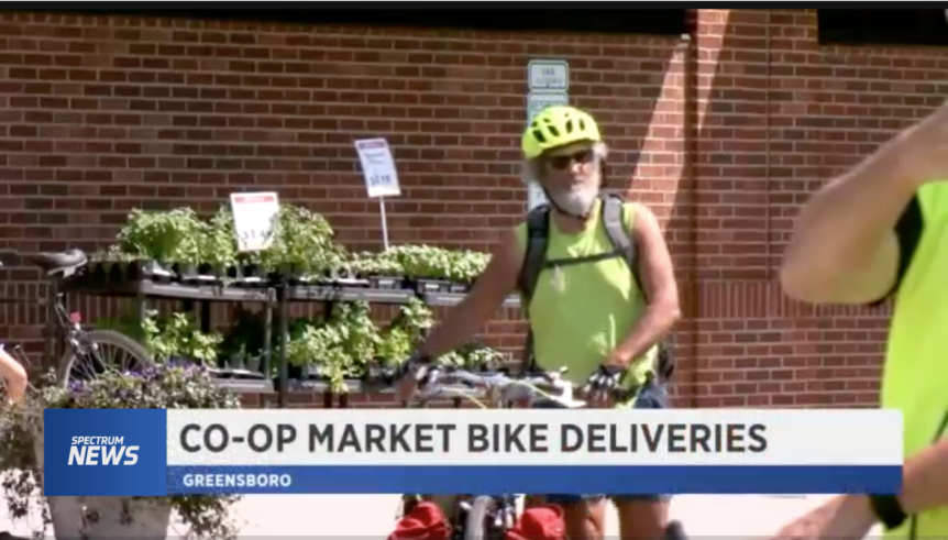 Deep Roots Market delivers with eBike Central electric bicycle