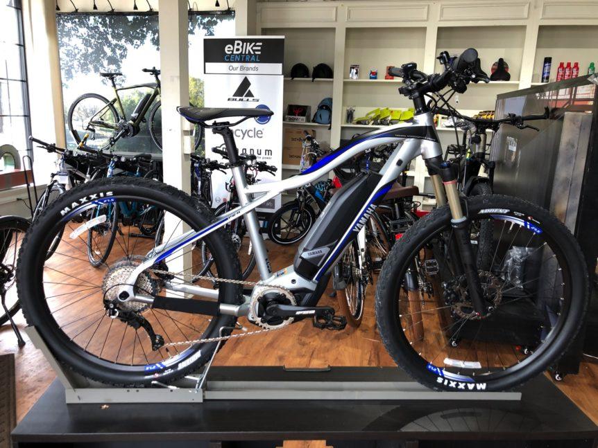 Yamaha TDX TORC eMountain Bike, eMTB