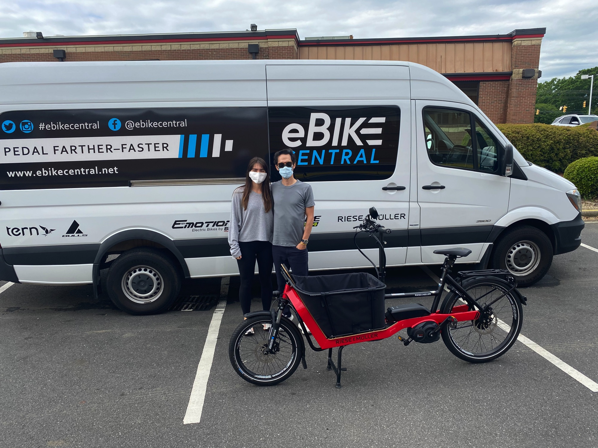 eBike Central in Miami FL, Riese & Muller Packster 40 Vario HS