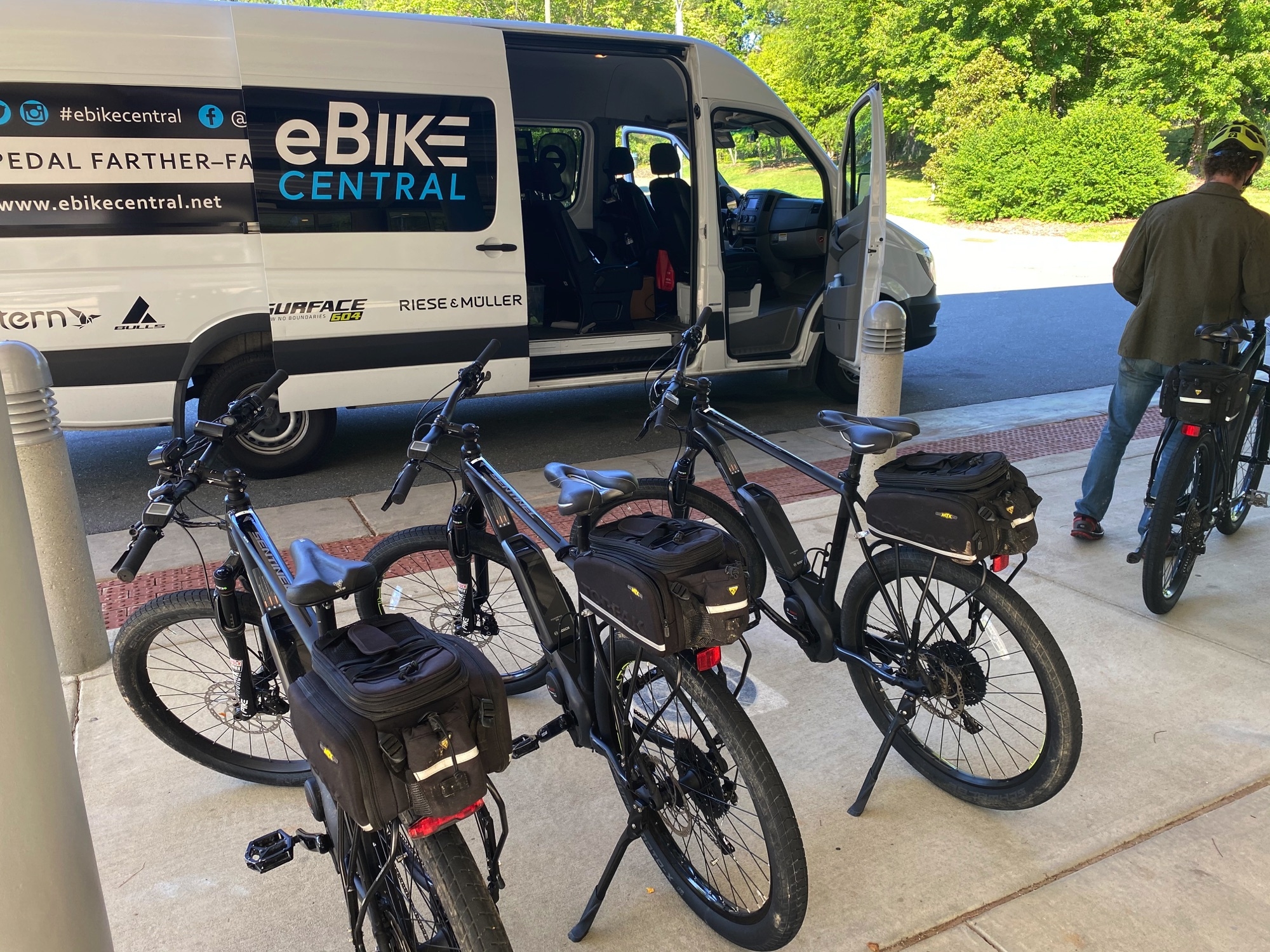 Chapel Hill Police Department service by eBike Central, Chapel Hill NC