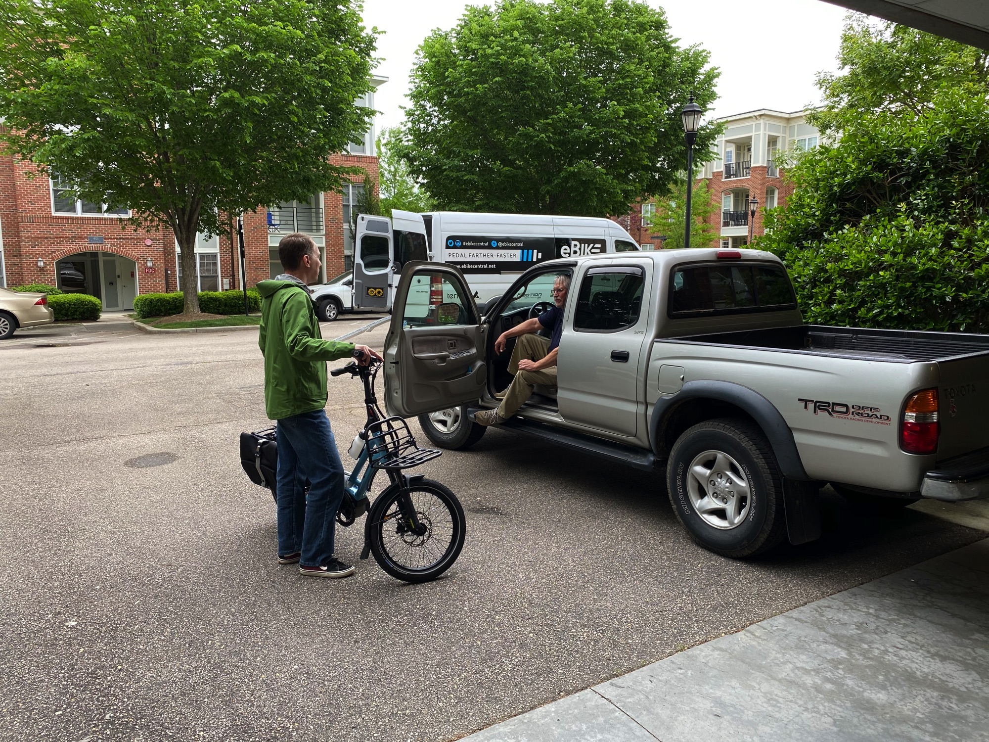 Garth's TERN eBike delivery in Durham NC