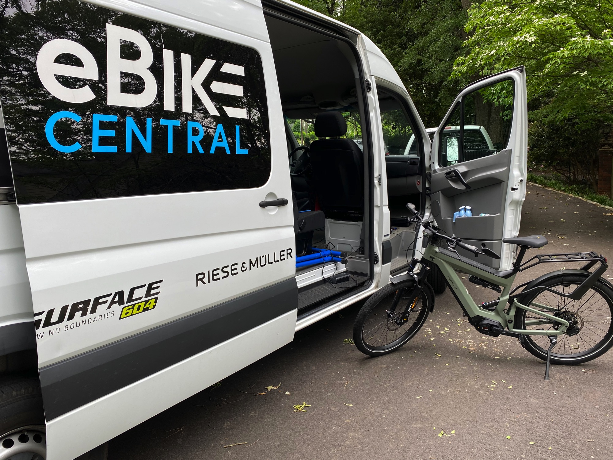 eBike Central in Greenville SC for Service stop