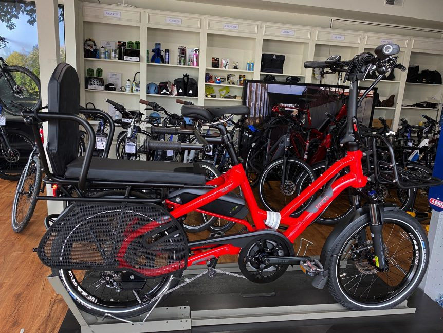 TERN HSD P9 eBike with Bosch Active Line Plus
