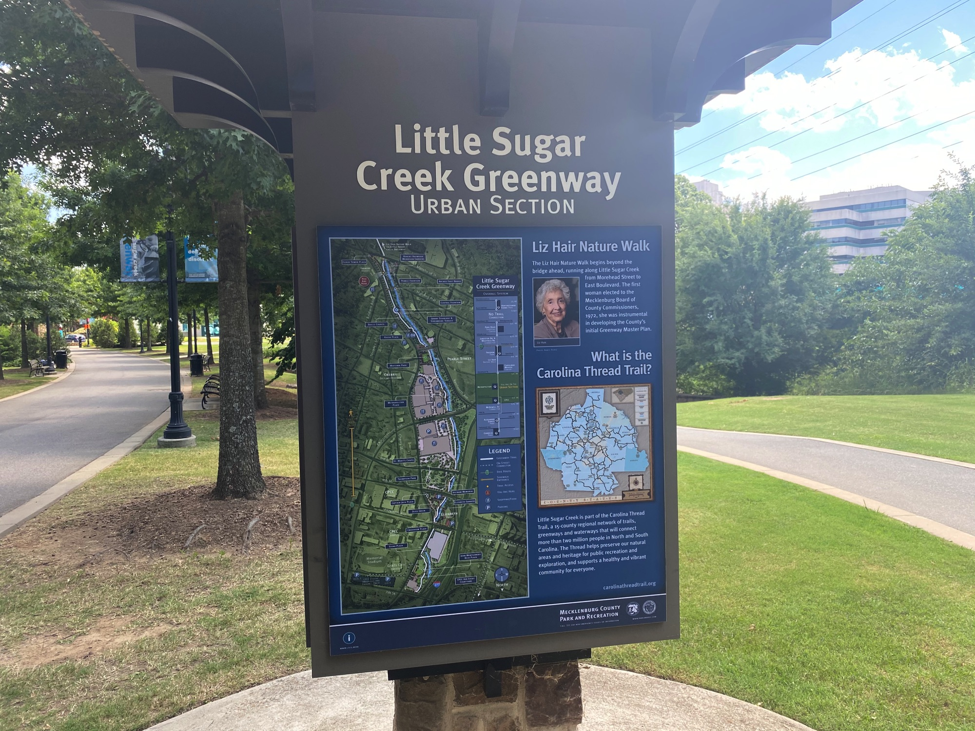 Little Sugar Creek Greenway, Urban Section, Charlotte NC