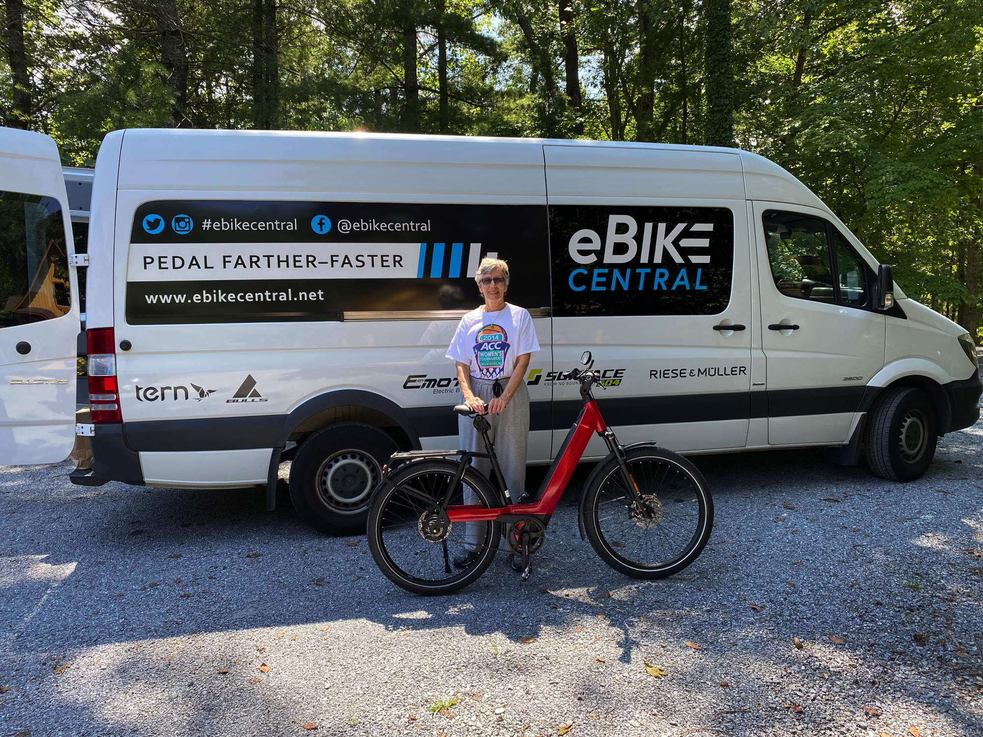 Electric Pedal Assist Bicycle delivery to Lynchburg VA