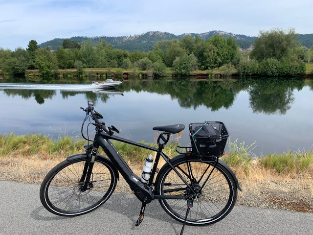Trail at Lake Coeur D Alene, eBike, BULLS Lacuba