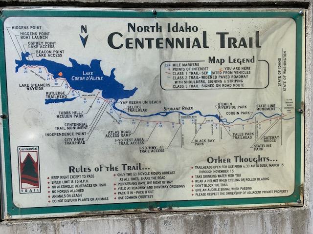 Harry is in Idaho on the Centennial Trail, eBike, BULLS Lacuba