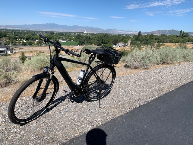 In Salt Lake City on the BULLS Lacuba Electric Bicycle
