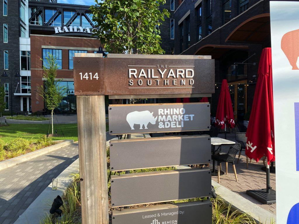 Rail Yard Southend, Rhino Market, Charlotte NC