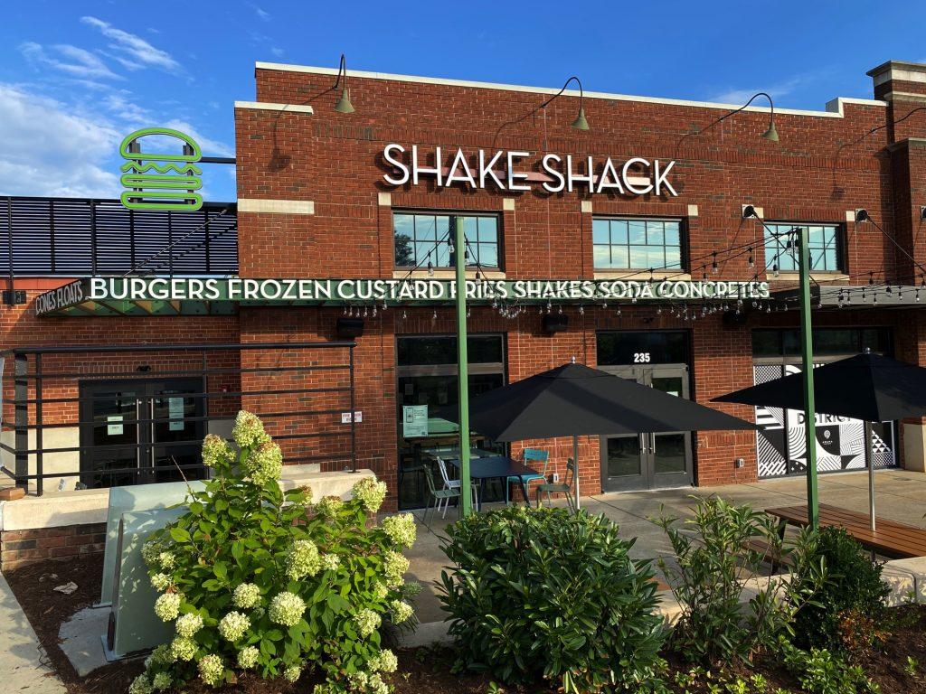 Shake Shack, South end, Charlotte NC