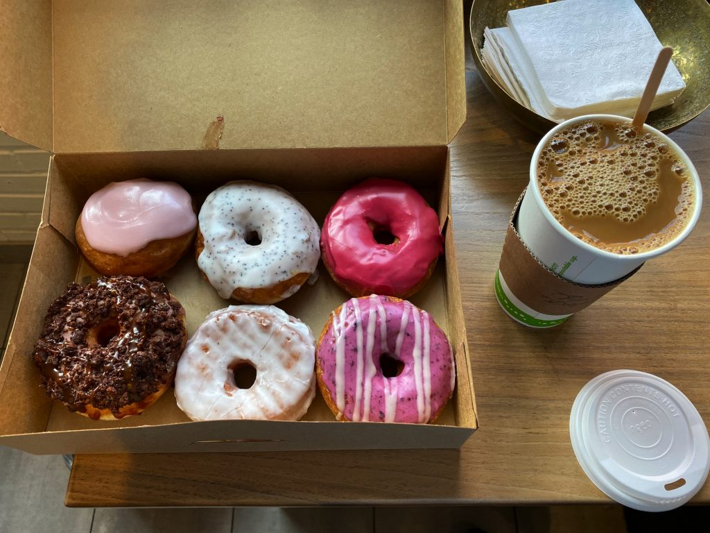 Pepperbox Donuts, South end, Charlotte NC