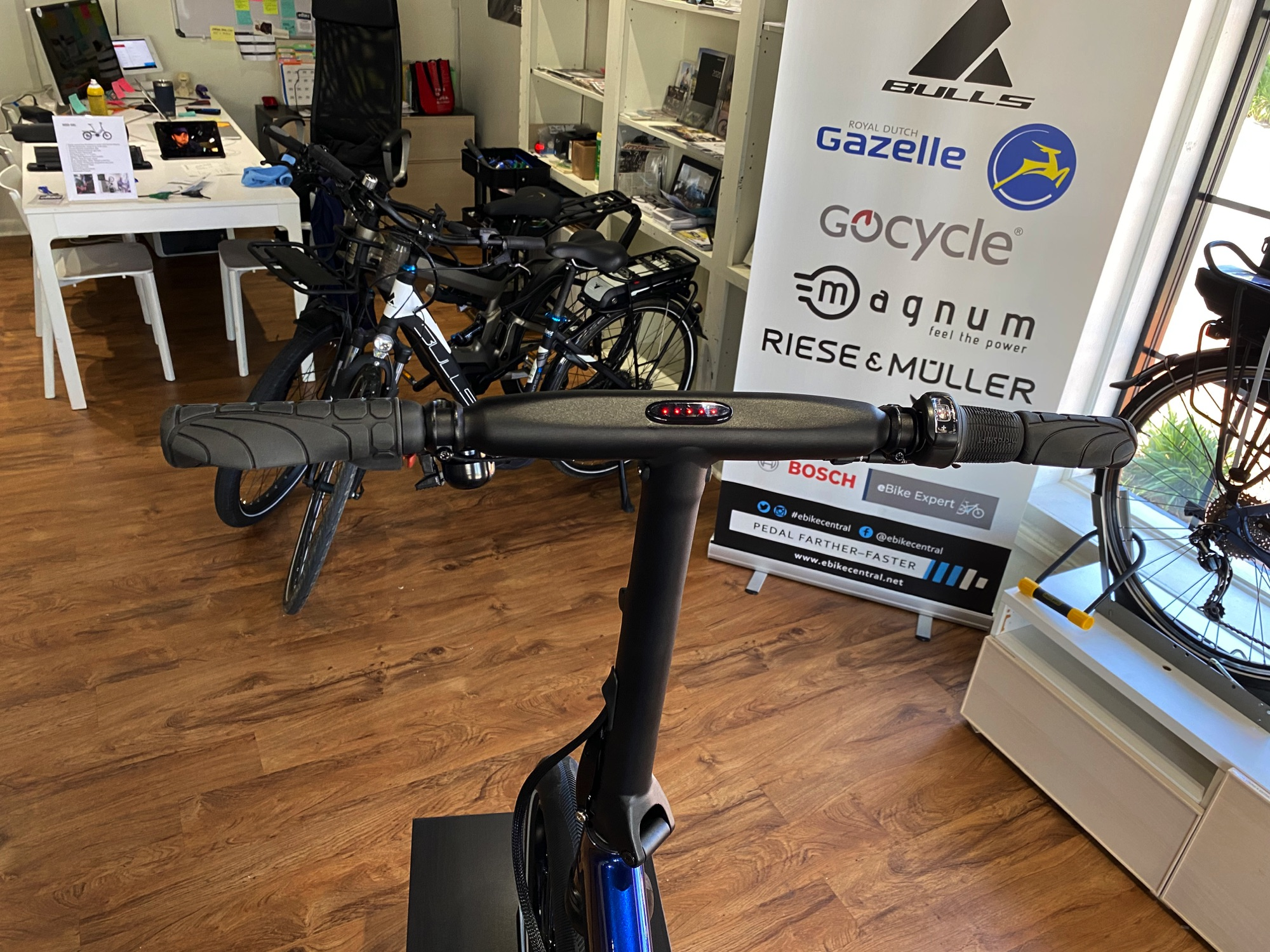 Gocycle GX electric bicycle, eBike Central, Greensboro and Charlotte NC