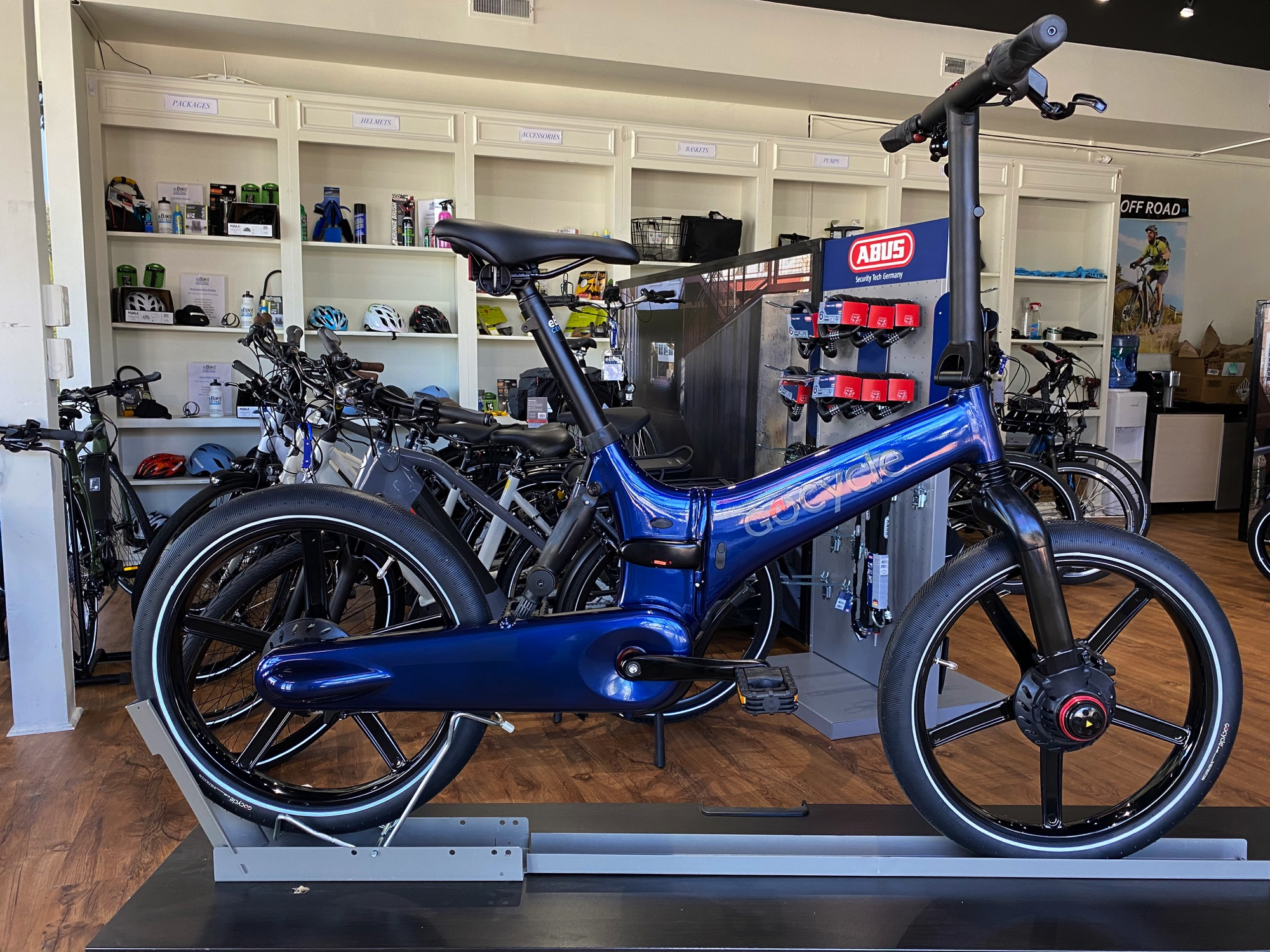 Gocycle GX, eBike Central, Greensboro and Charlotte NC