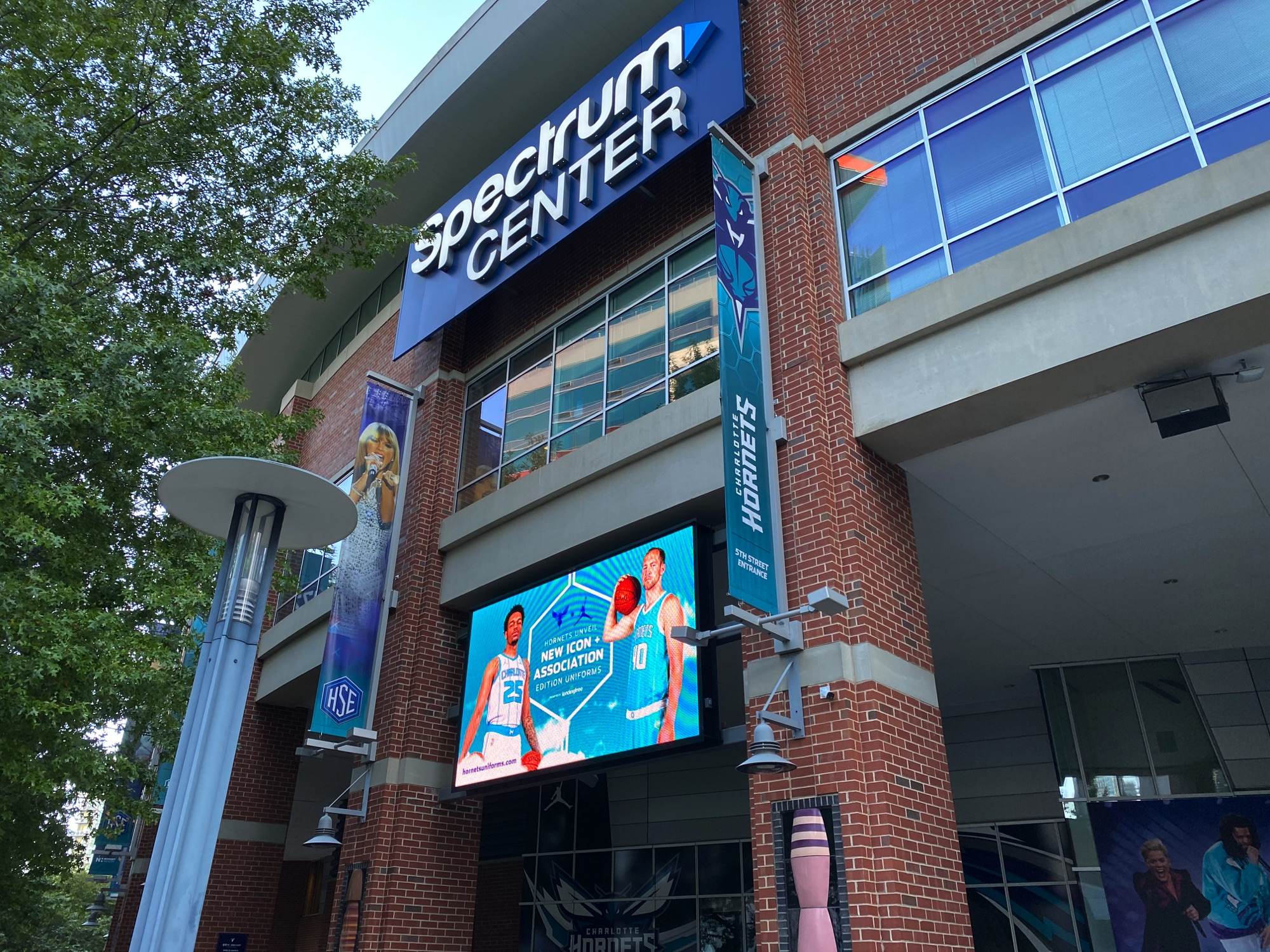 Electric Bicycles in Charlotte NC, Spectrum Center