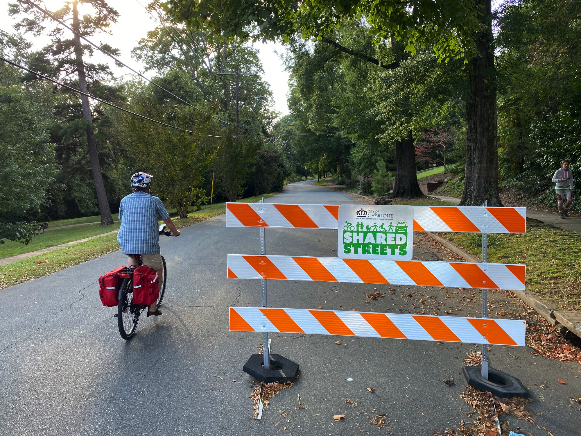 Electric Bicycles in Charlotte NC, Open Streets
