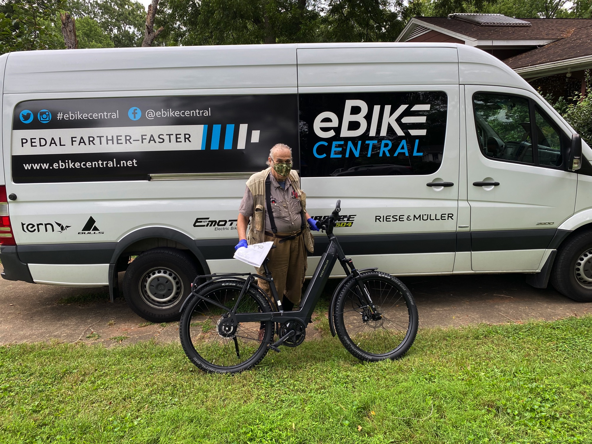 eBike Central Customer, Riese and Muller Nevo3