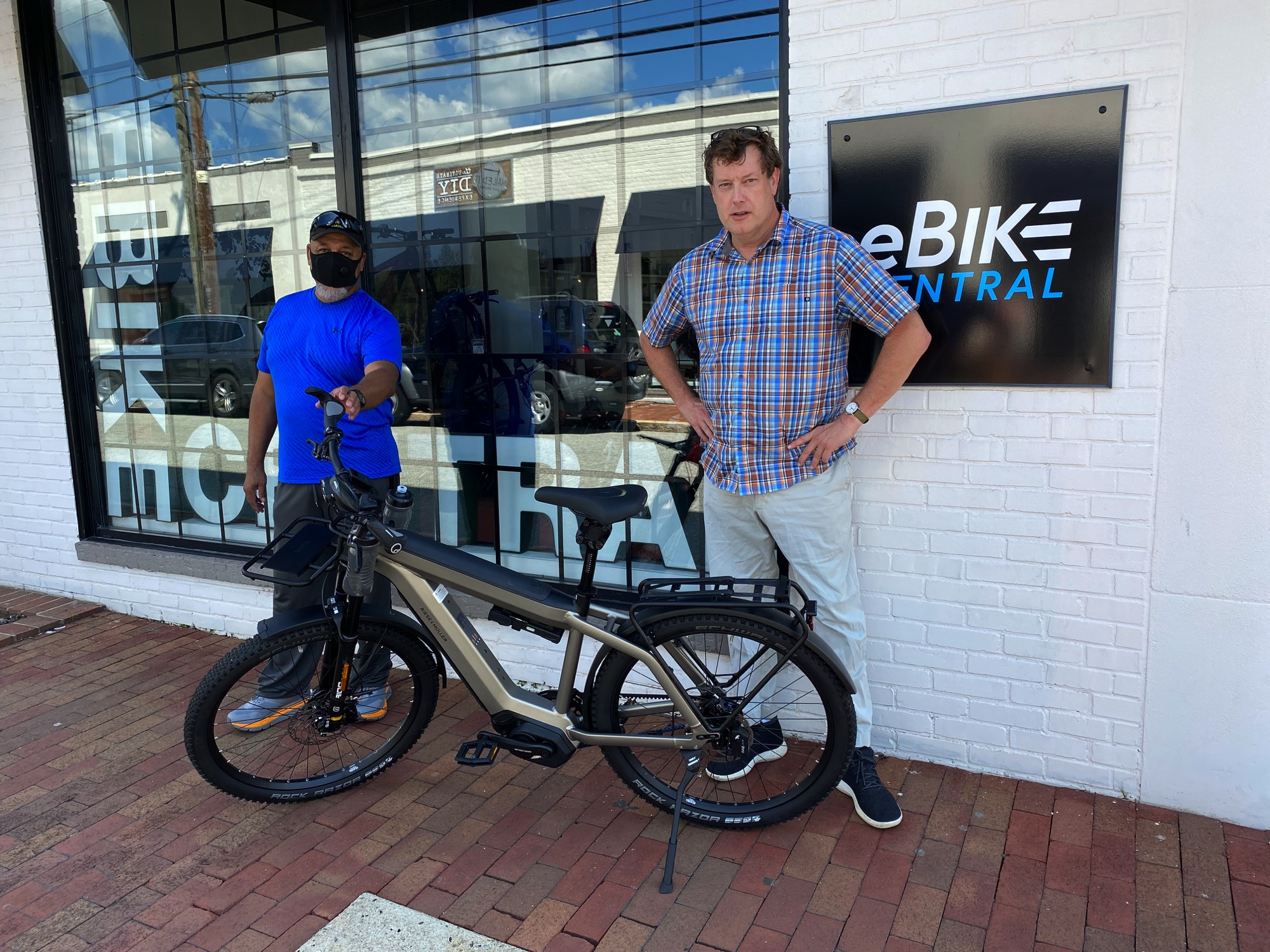 eBike Central Customer, Riese and Muller Supercharger2 Rohloff HS
