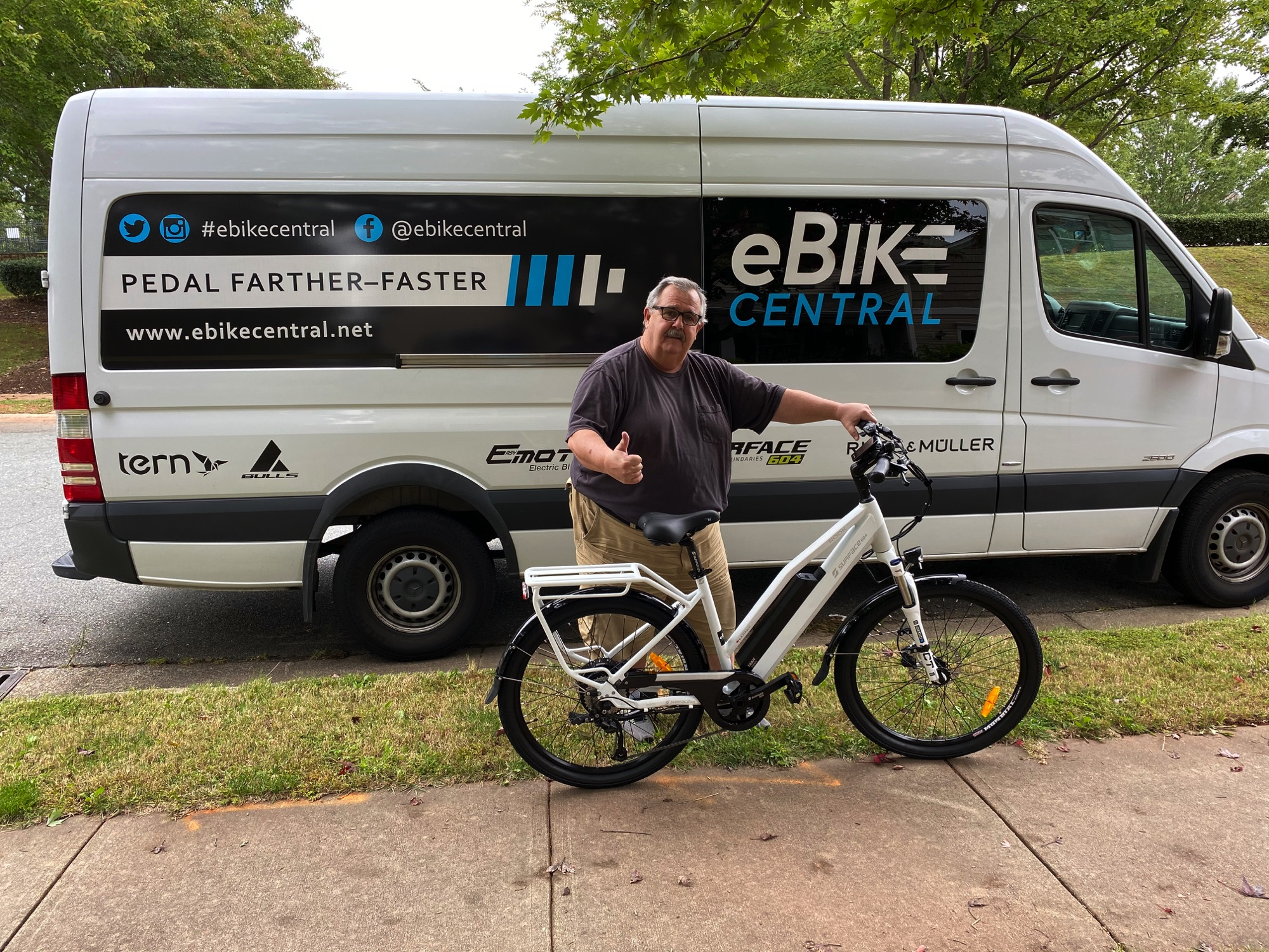 eBike Central Customer, Surface604 Rook