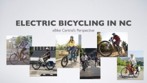 NCDOT Presentation - Electric Bicycles in NC