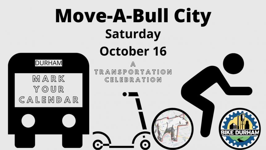 BikeDurham, Move-a-Bull City Event