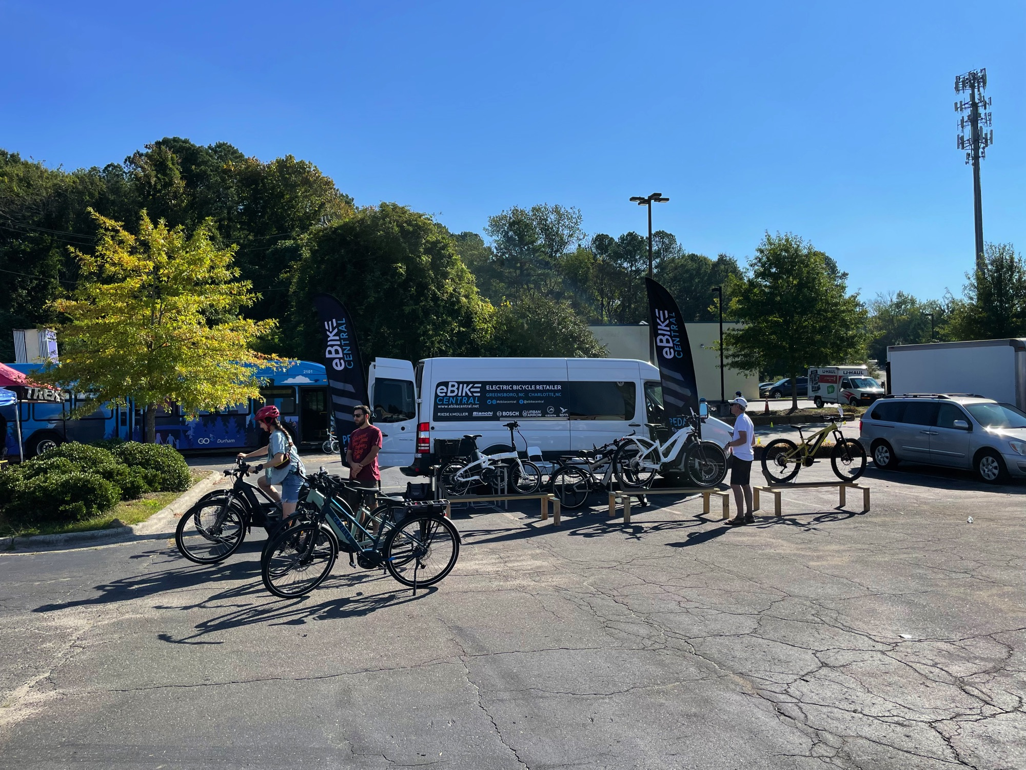 """Featured image for """"eBike Central attended Move-A-Bull City Event with BikeDurham, Durham NC!"""""""
